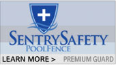 Sentry Safety Poly Guard Pool Fence